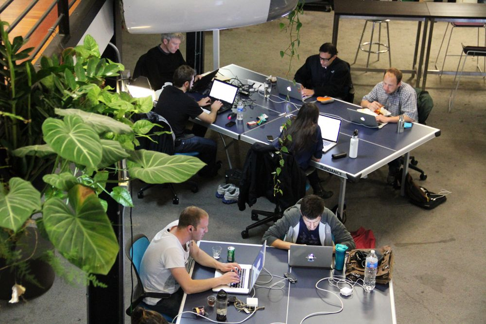 Coworking Büros digitale Nomaden