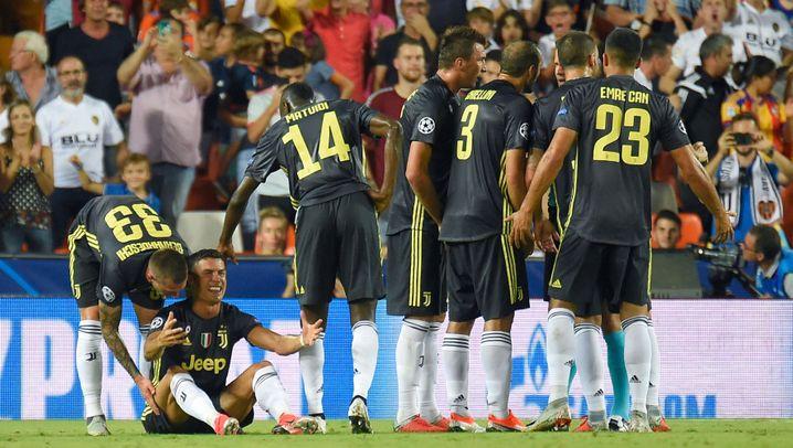 Ronaldos Platzverweis für Juve: Das Horror-Debüt
