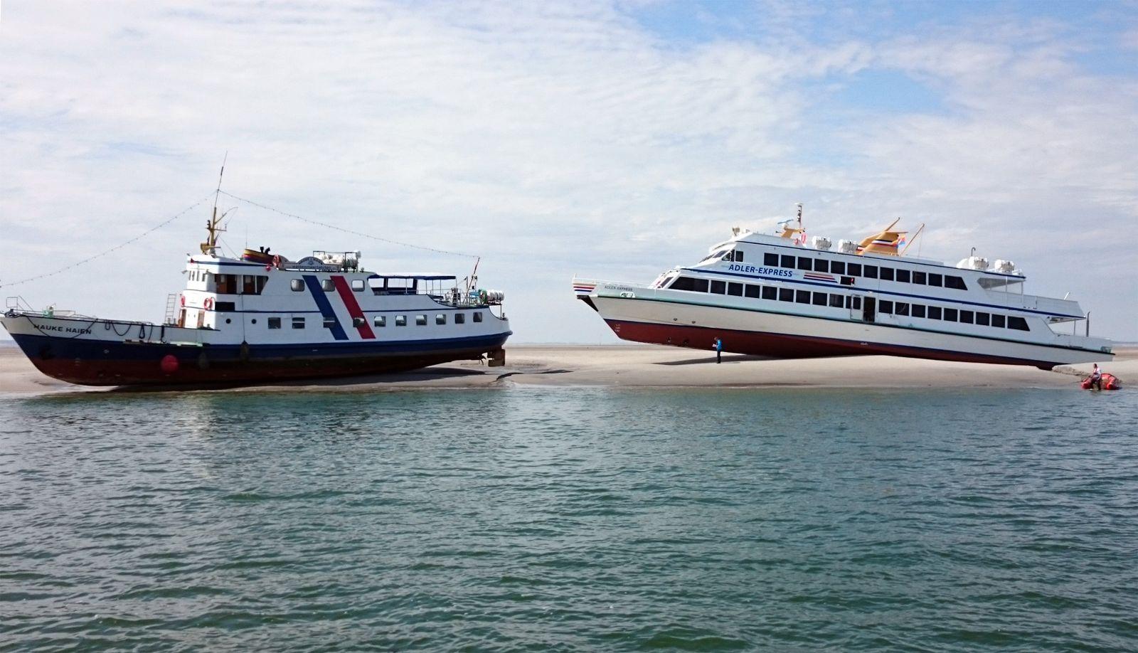Wattenmeer/ Fahrgastschiff