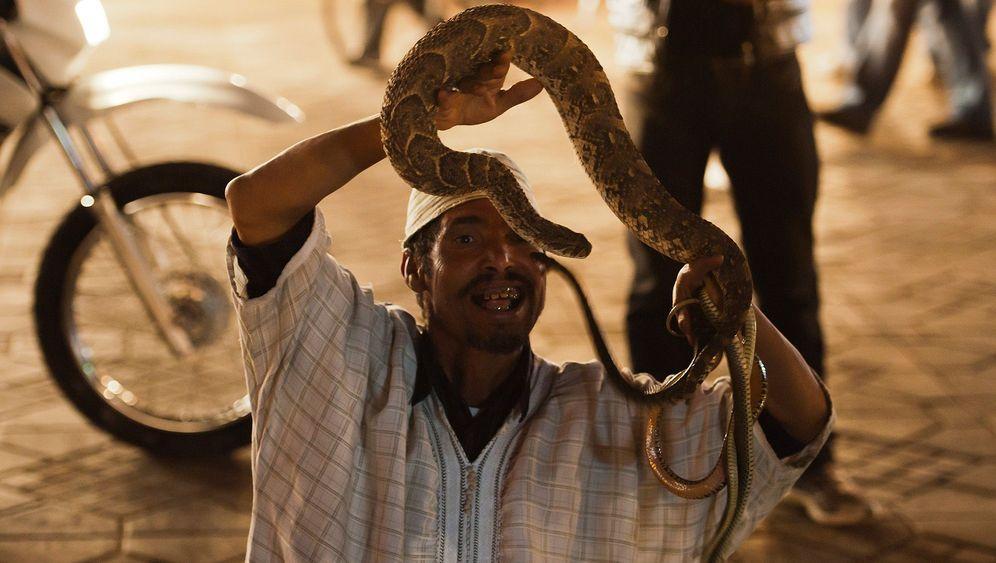 Spaziergang durch Marrakesch: Gassen, Geschichten, Gauklerplätze