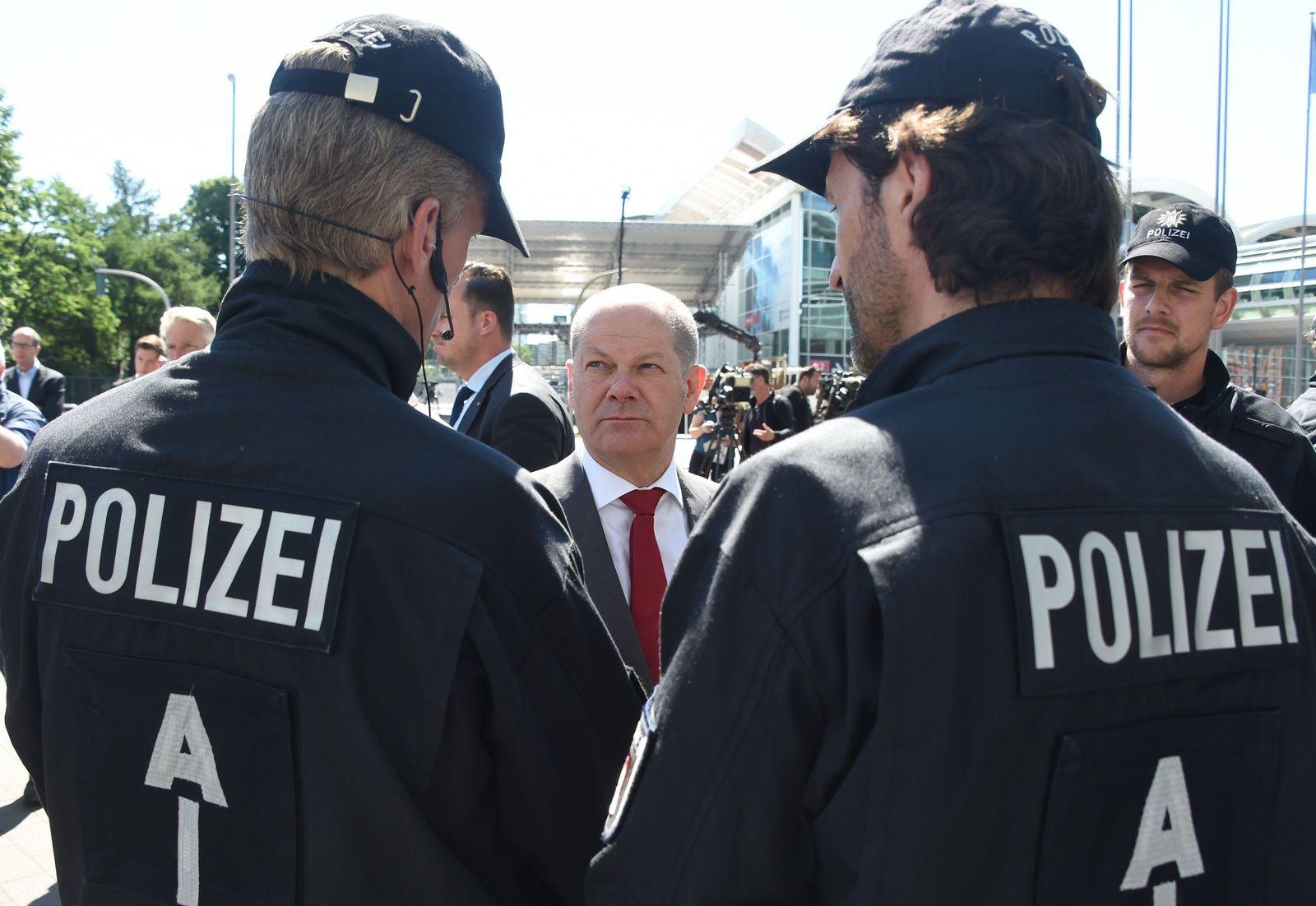 Steinmeier informiert sich über Lage nach G20-Gipfel
