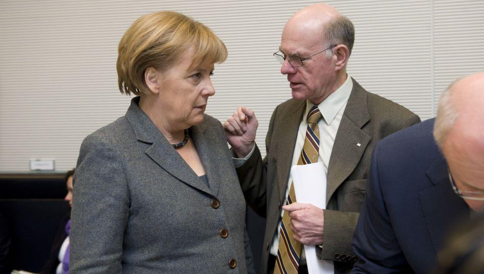 """Merkel, Lammert: Beitrag der Spitzenverdiener """"ganz sicher nicht konjunkturschädlich"""""""