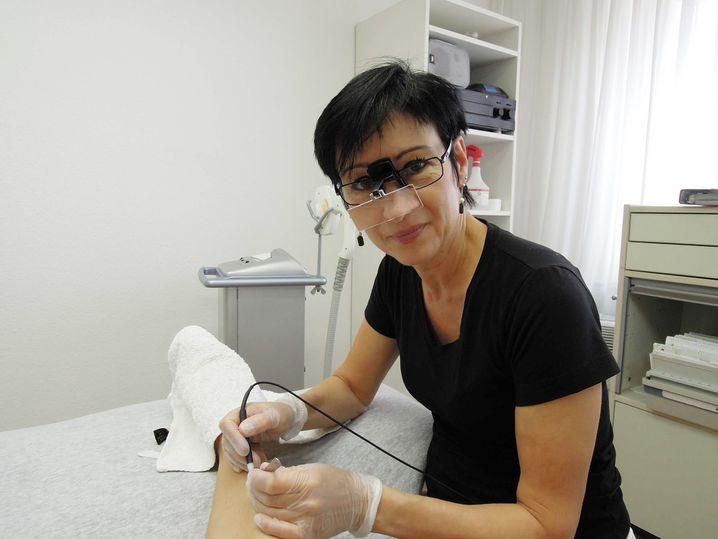 Ulrike Maldoff, 45, ist Elektrologistin