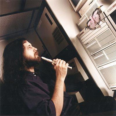 Open-Source-Erfinder Richard Stallman beschwört den Geist der freien Software