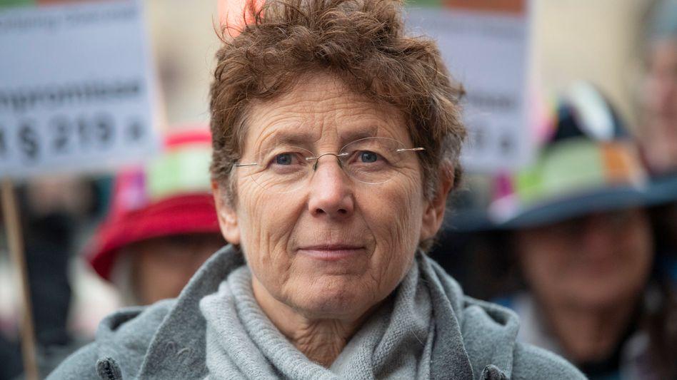 Kristina Hänel (Archivbild): fordert die Abschaffung von Paragraf 219a StGB
