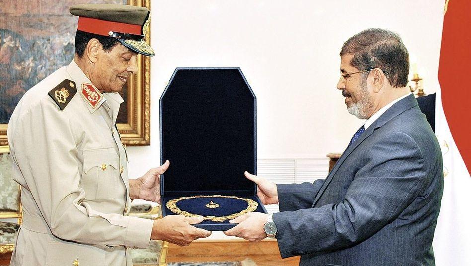Tantawi, Mursi