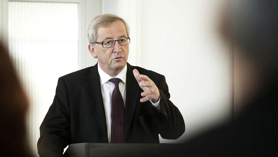 """Euro-Gruppen-Chef Juncker: Athens Wirtschaftsstruktur sei """"der unseren"""" nicht vergleichbar"""