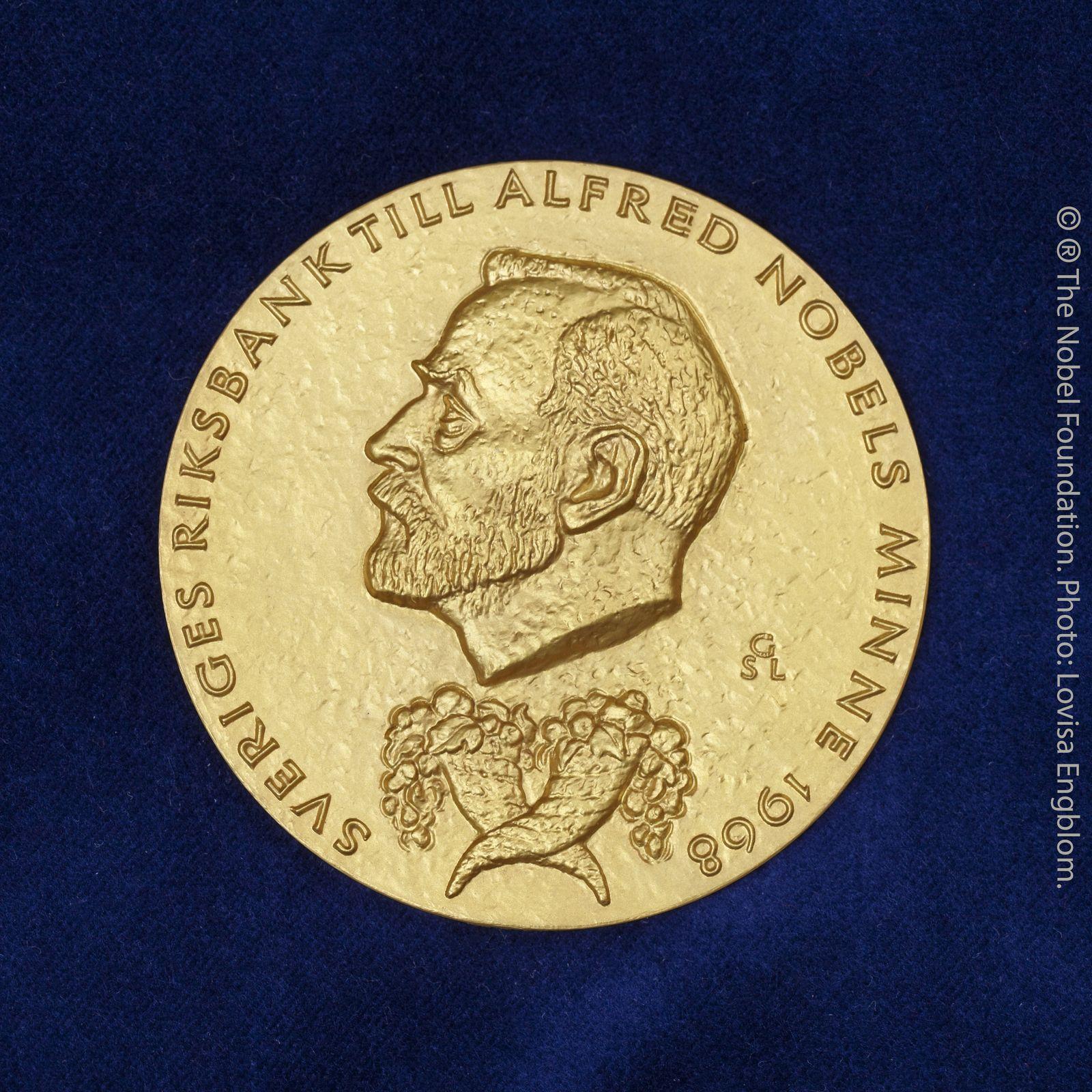 Nobelpreis Wirtschaft / Symbol-Foto / Wirtschaftsnobelpreis