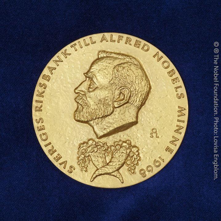 Goldene Medaille für den Wirtschaftsnobelpreis