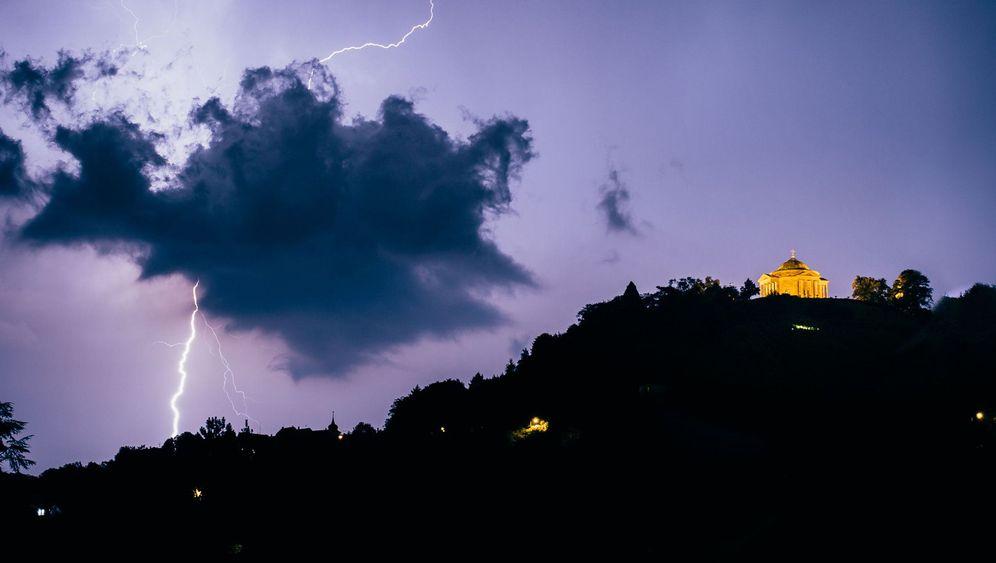 Blitze in Deutschland: Krawumm