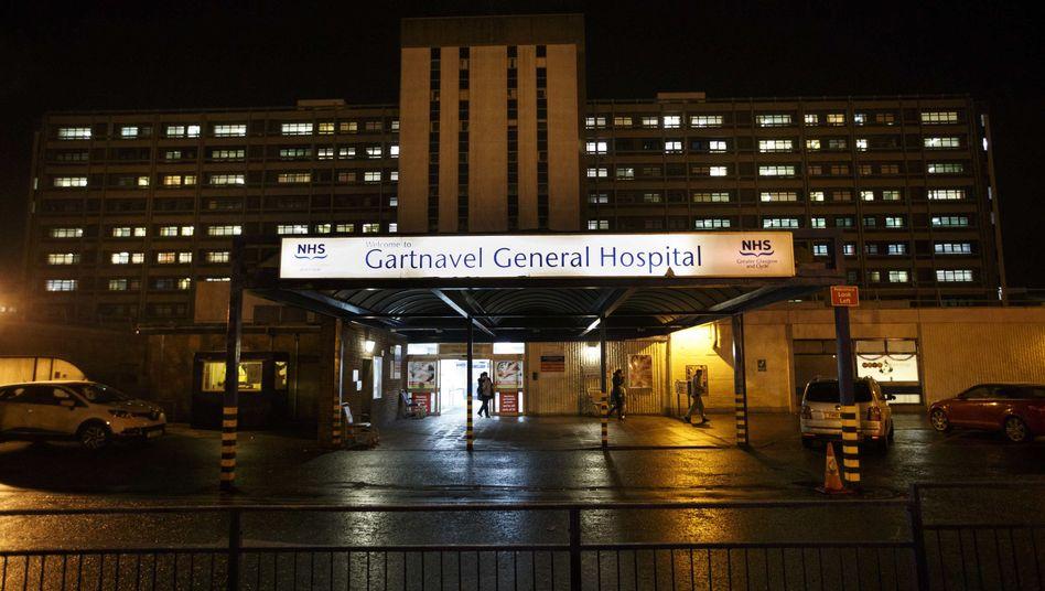 """Krankenhaus in Glasgow: Gefahr für weitere Infektionen """"extrem niedrig"""""""