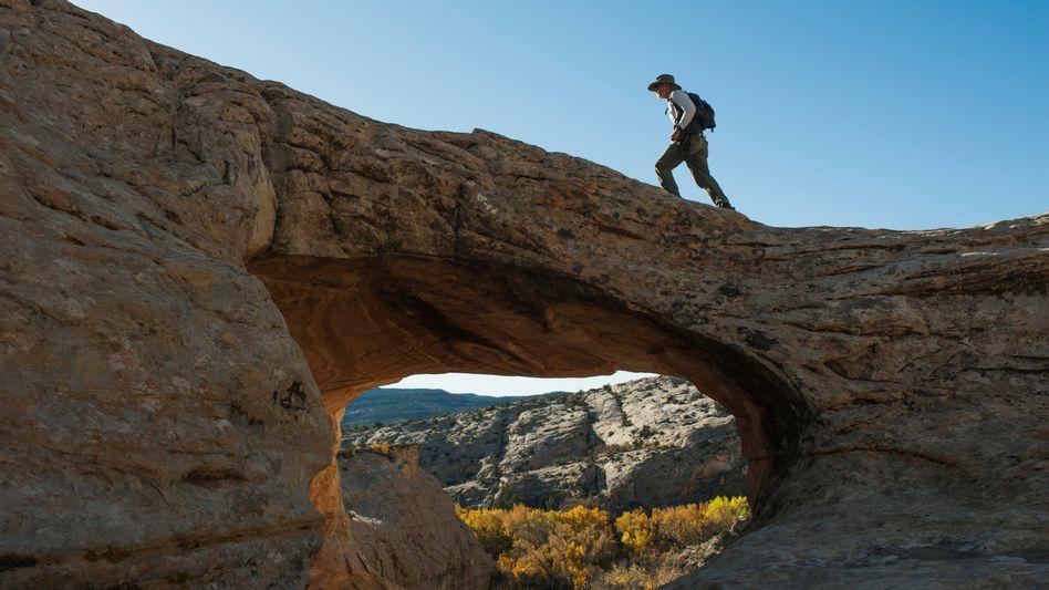 """Wanderer im """"Bears-Ears-Nationalpark"""" in Utah"""