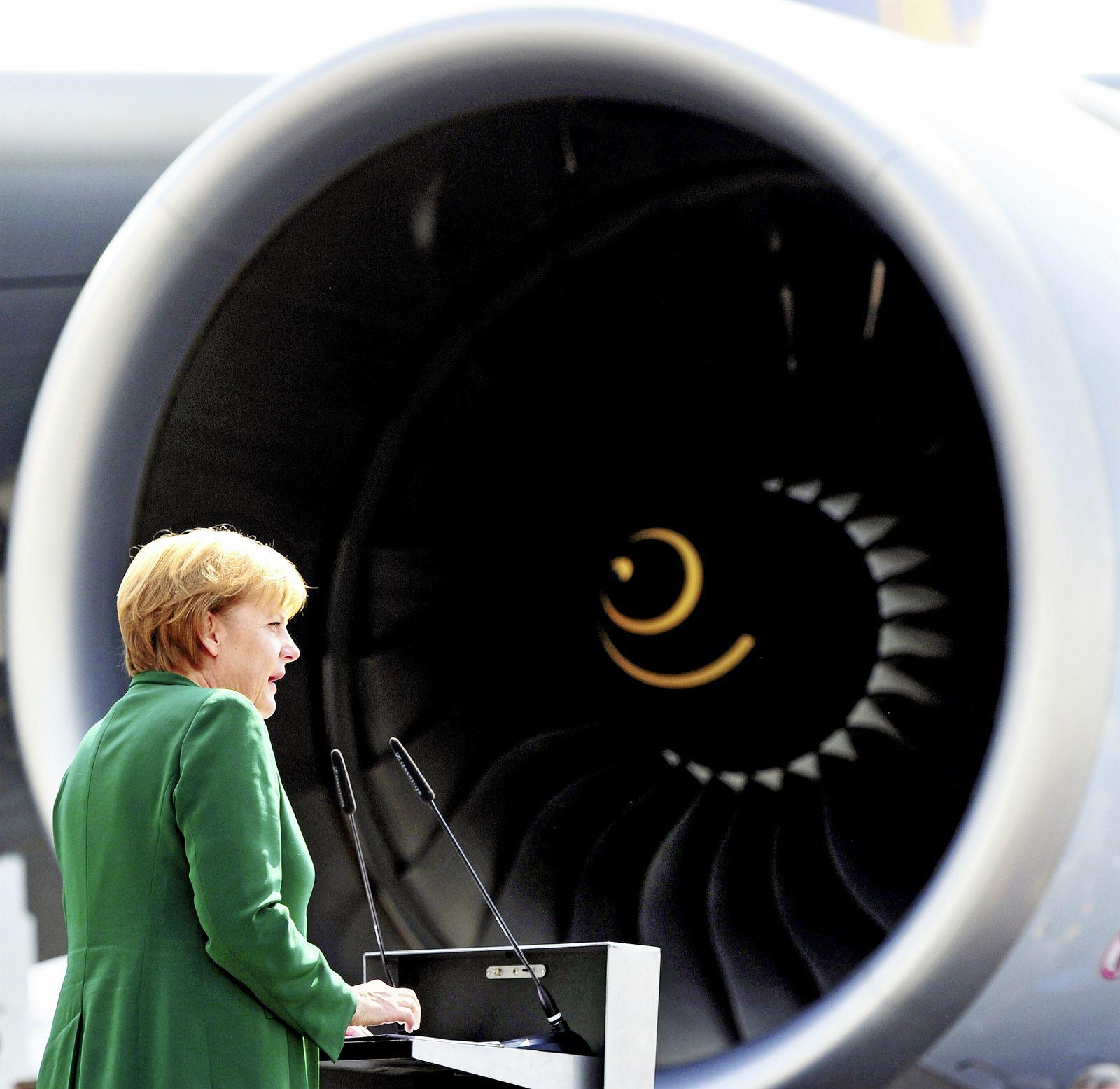 Merkel auf der ILA