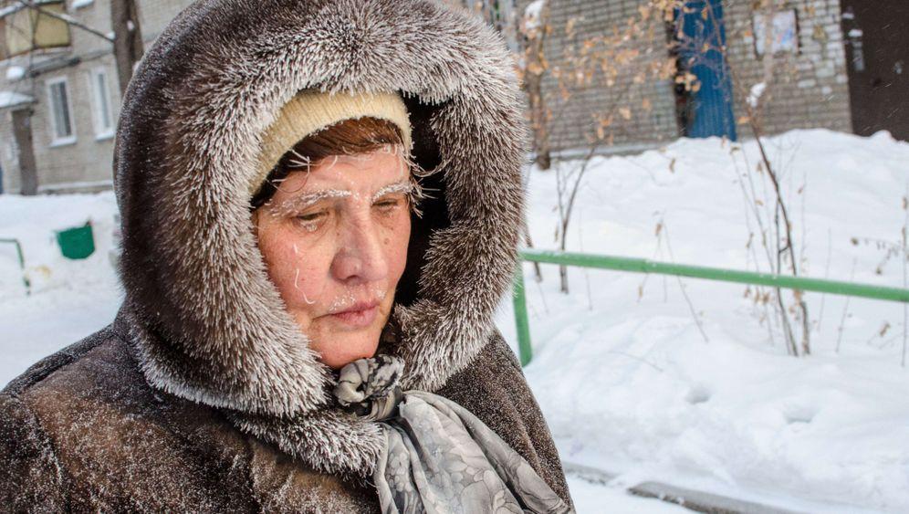 Beißende Kälte: Rekordwinter in Russland