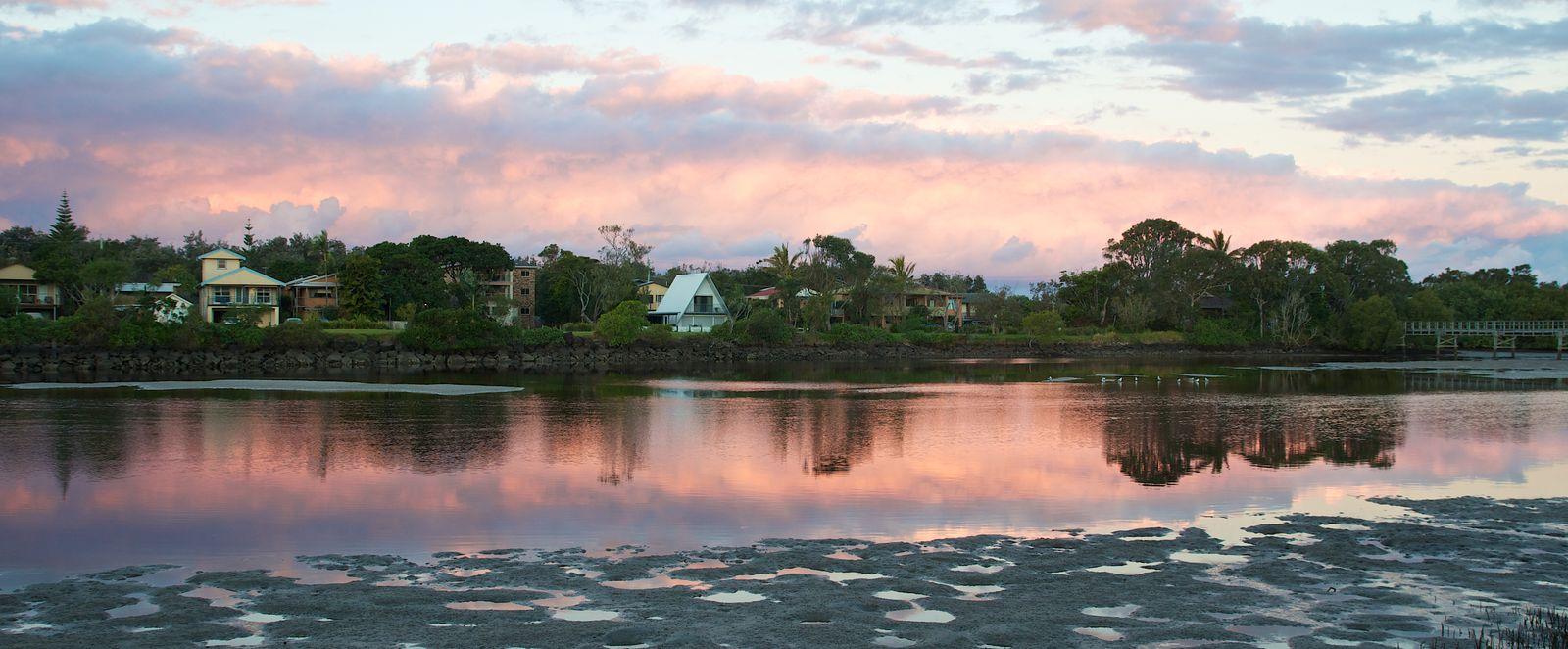 River View of Brunswick Heads New South Wales Australia