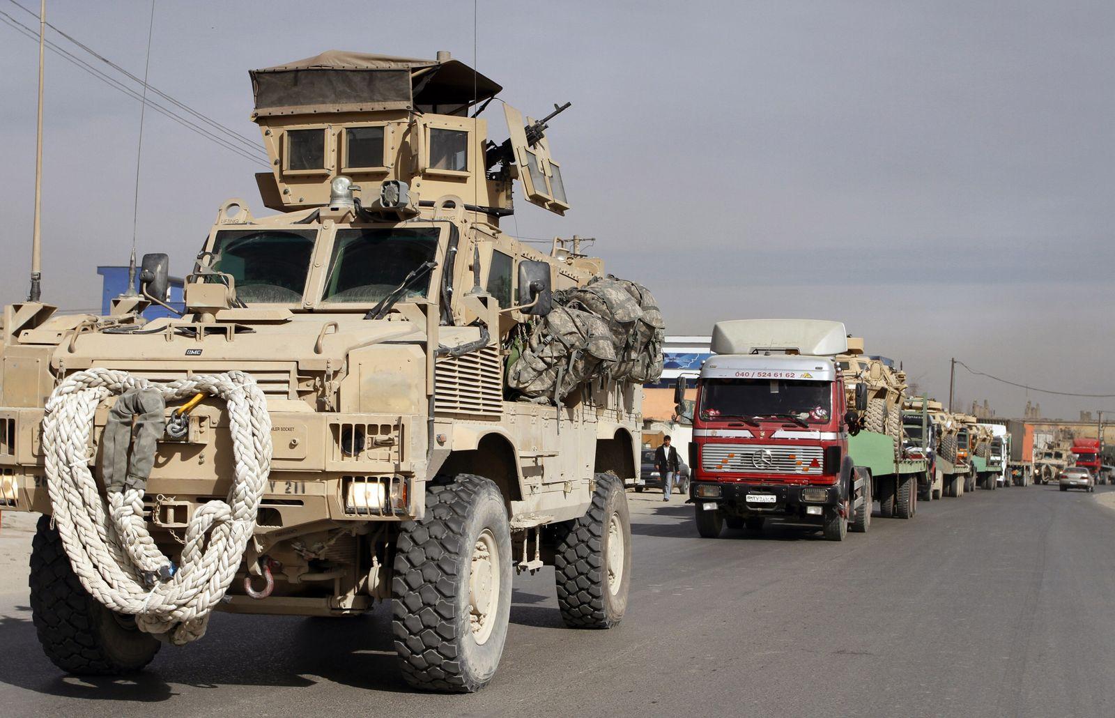 Afghanistan Trucking Probe