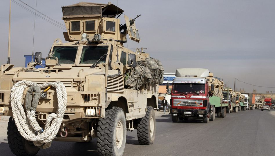 US-Nachschubkonvoi in Afghanistan: Steuermillionen als Schutzgeld an die Warlords