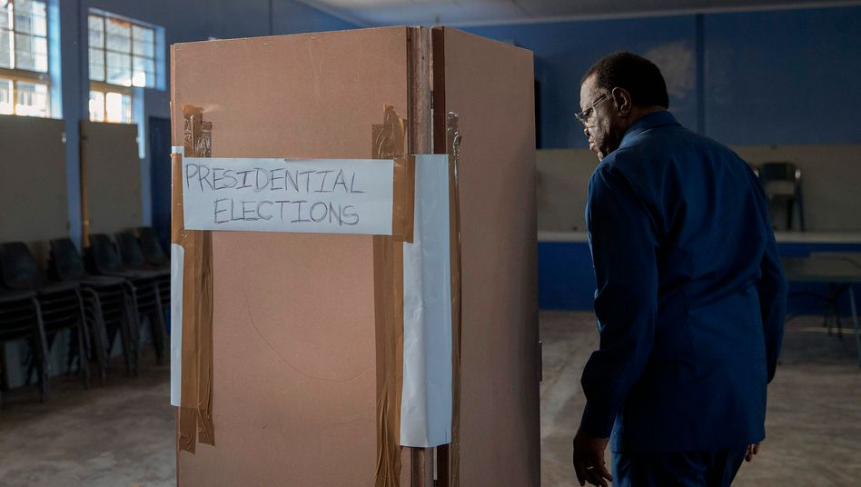 Wahlen in Namibia (Archivbild von 2019)