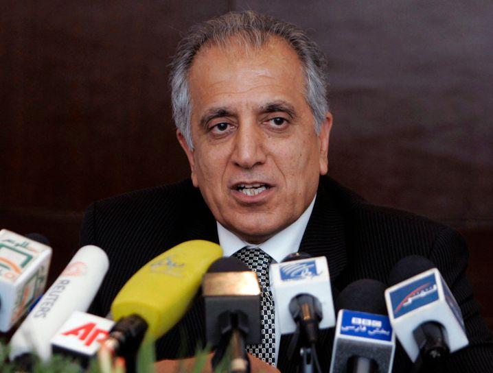 Zalmay Khalilzad, der US-Sondergesandte für Afghanistan (Archivbild)
