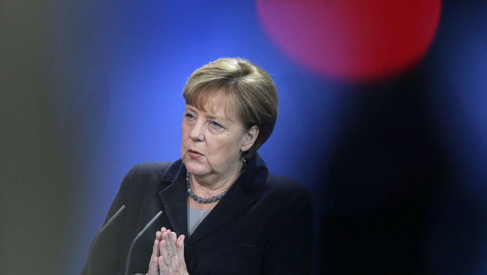 Merkel: Unionsabgeordnete schickten Brandbrief an die Kanzlerin
