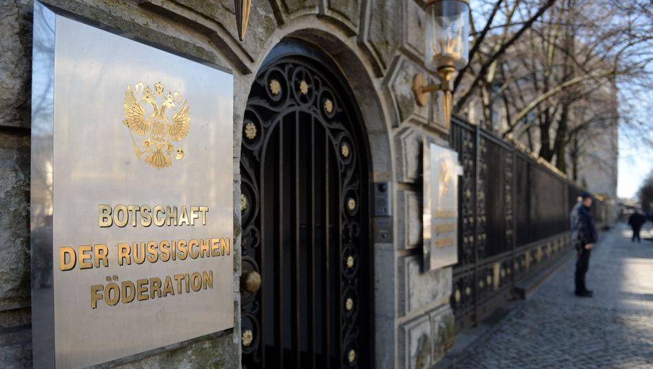 Russische Botschaft in Berlin: Besuch von AfD-Spitzenleuten