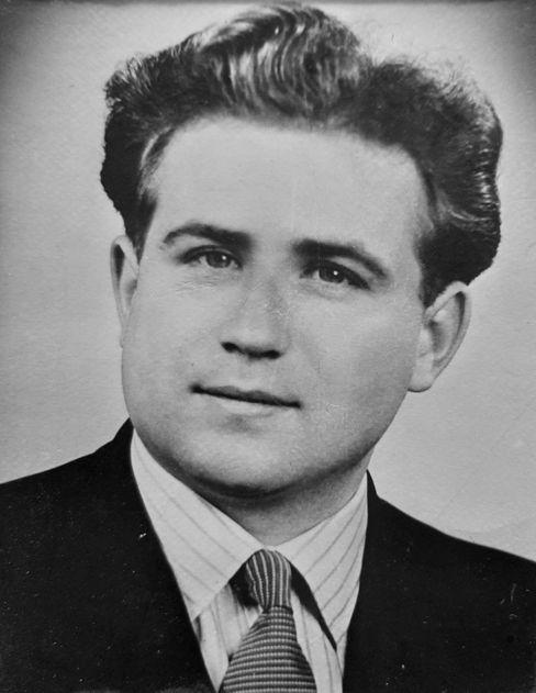 Johannes Waberski im Jahr 1947