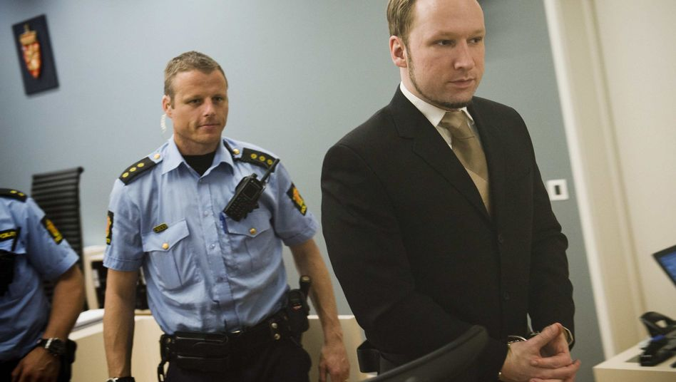 """Angeklagter Breivik: """"Polizei hat sich optimal eingesetzt"""""""