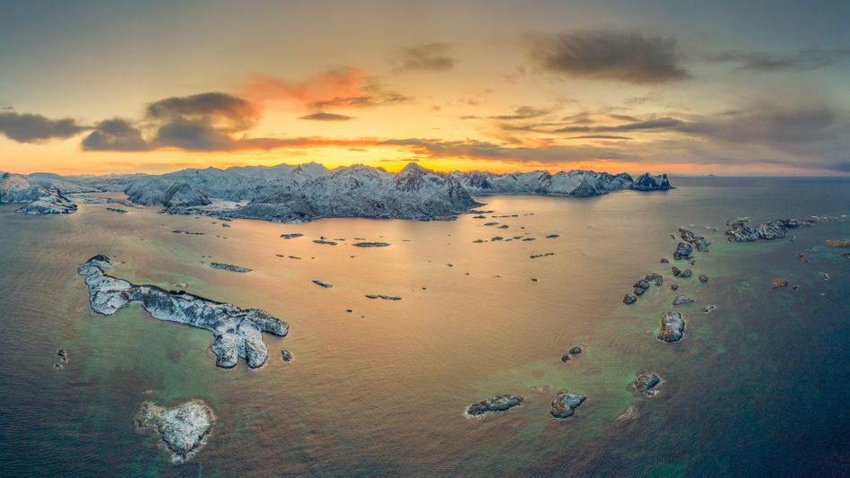 Insel Bergsoyan in Norwegen