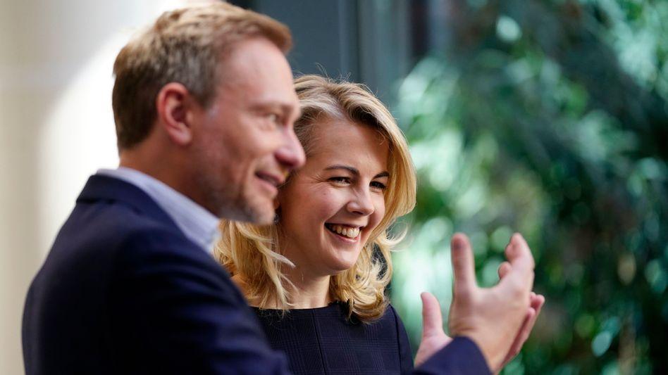 """Christian Lindner und Linda Teuteberg: """"Zielvorgaben"""" für mehr Frauen"""