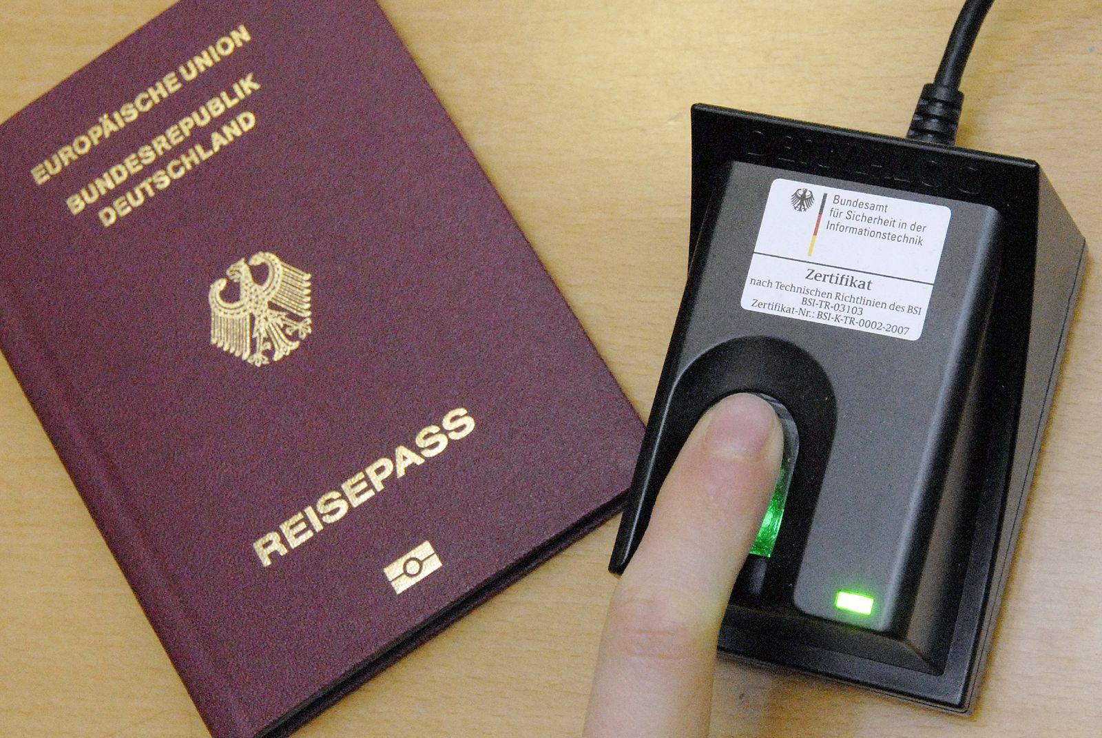 Reisepass Fingerabdruck Wo Gespeichert