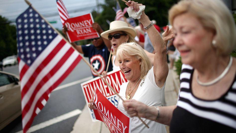 Republikaner-Anhänger: Erzkonservatives Wahlprogramm