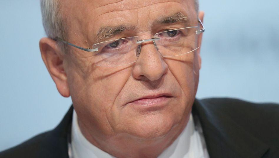 VW-Abgasaffäre: Winterkorn wird offenbar von allen Ämtern zurücktreten