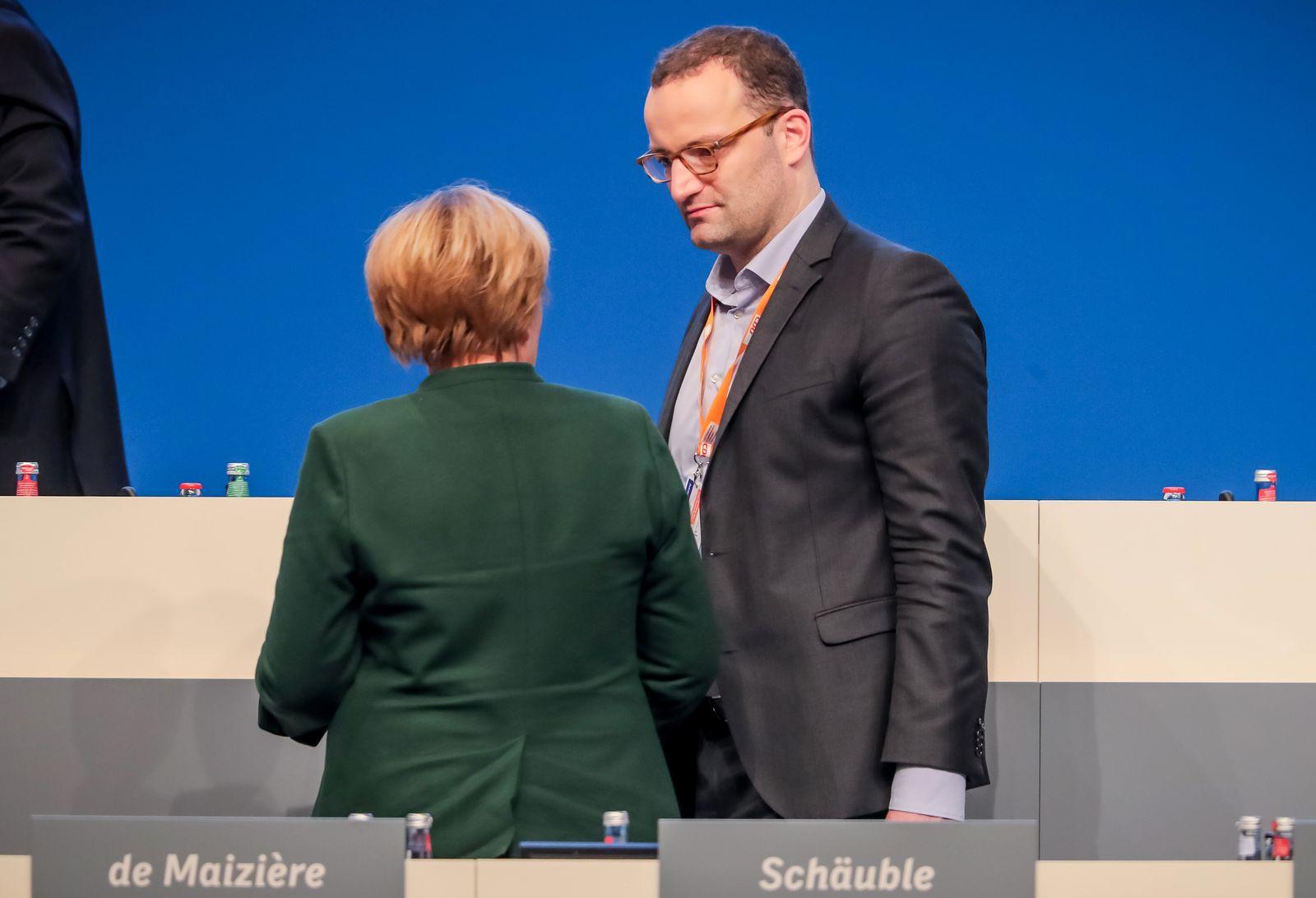 Jens Spahn / Angela Merkel
