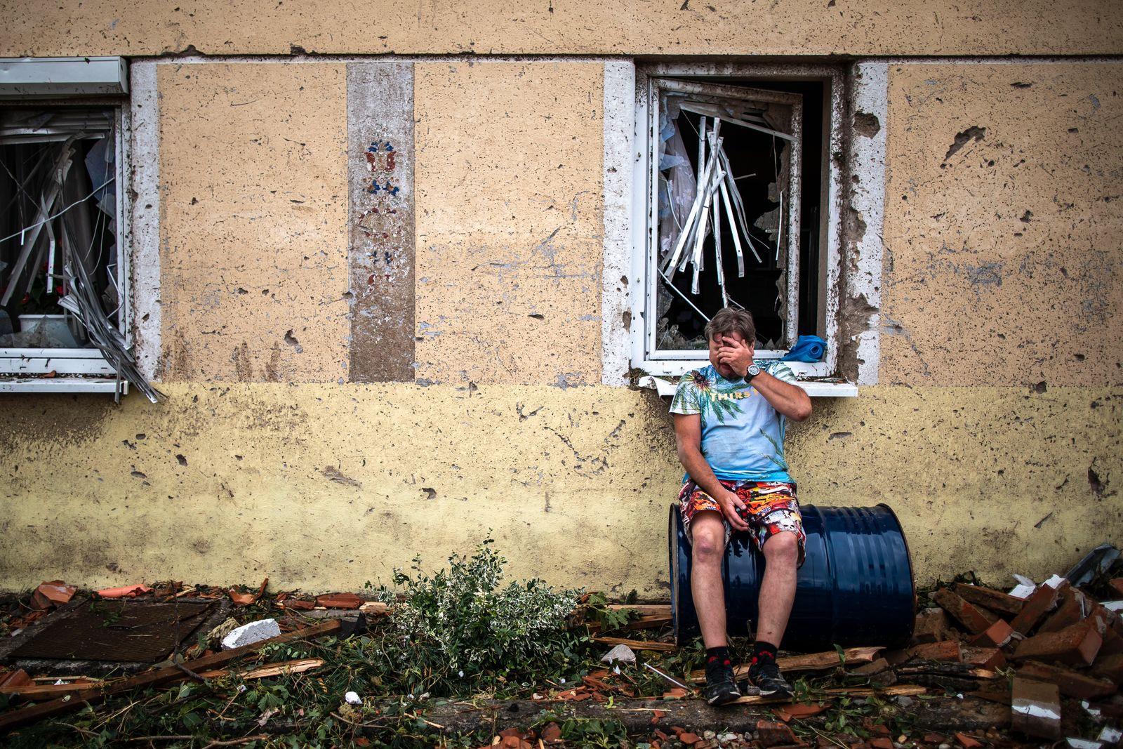 BESTPIX - Tornado Causes Severe Damage In Southeast Czech Republic