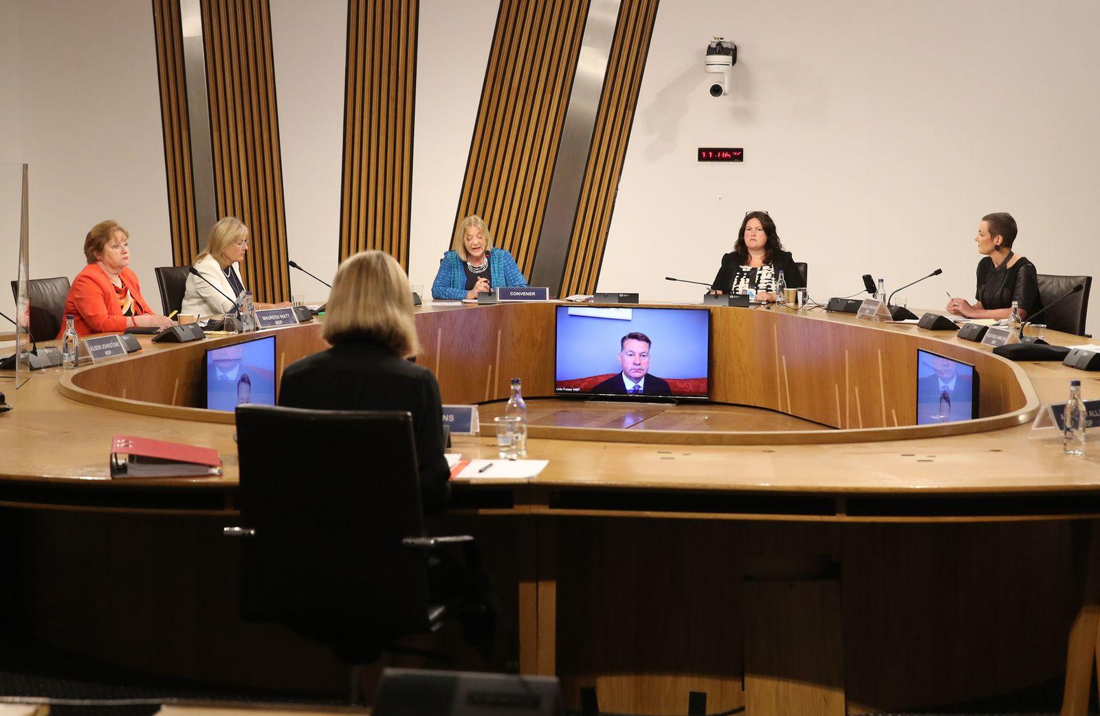 Scotland's Top Civil Servant Gives Evidence To The Alex Salmond Probe Inquiry