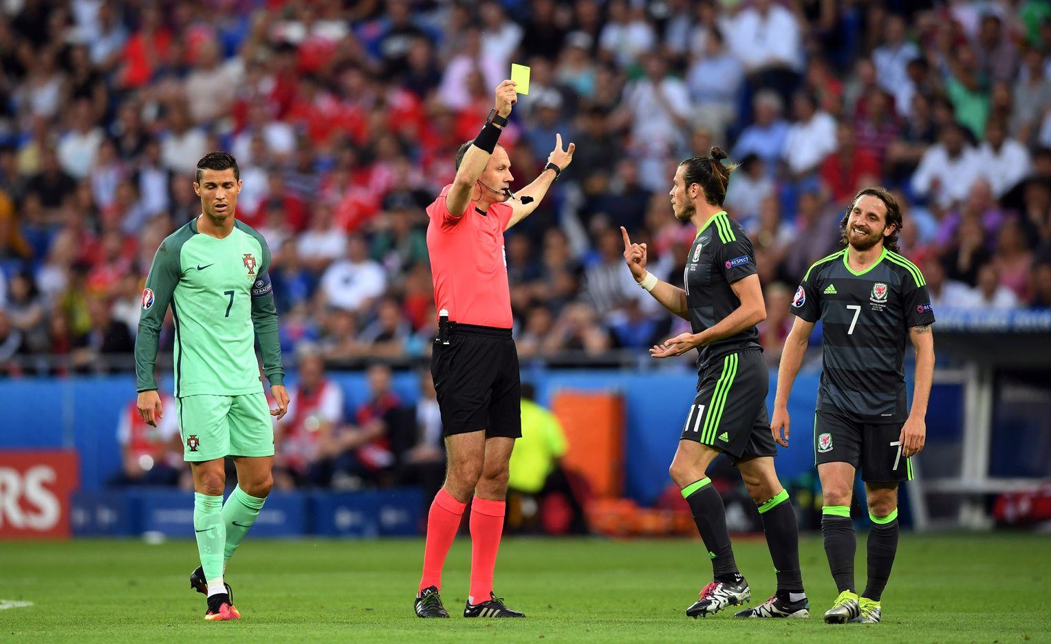 Schiedsrichter Wales Portugal