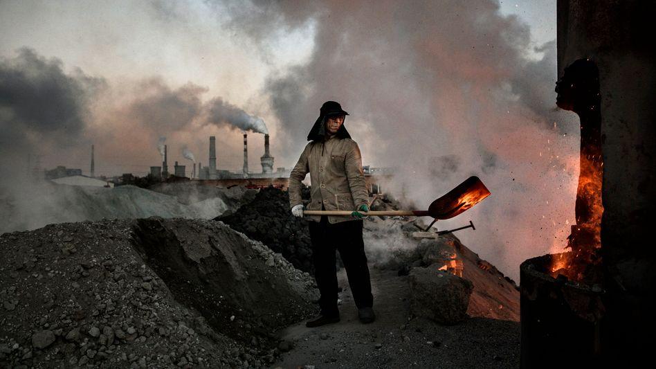 Stahlfabrik in China