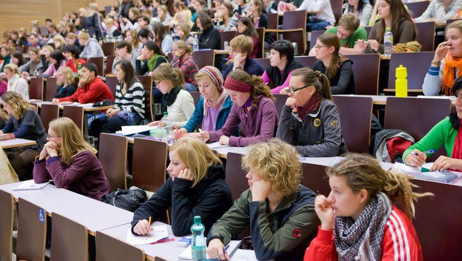Studenten in Wien: Ist von ausländischen Studenten die Rede, sind deutsche gemeint