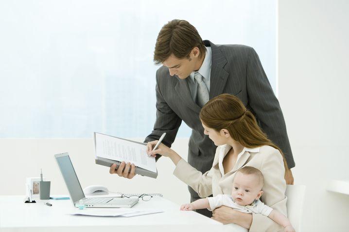 Baby an Bord: Um einen Teilzeit-Wunsch abzulehnen, braucht der Chef gute Gründe