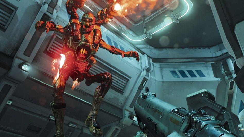 Szene aus »Doom«