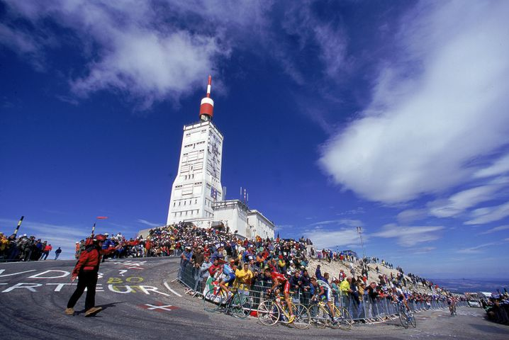 Mount Ventoux: Keine Bergspezialisten in Deutschland