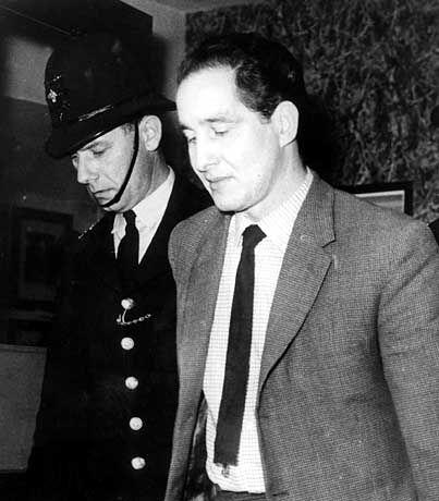 Biggs nach der Urteilsverkündigung 1964 in London.