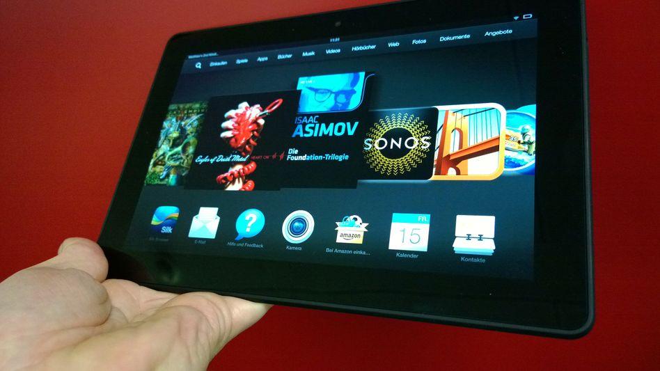 Amazon-Tablet: Elektronische Lesezeichen für E-Books und Hörbücher