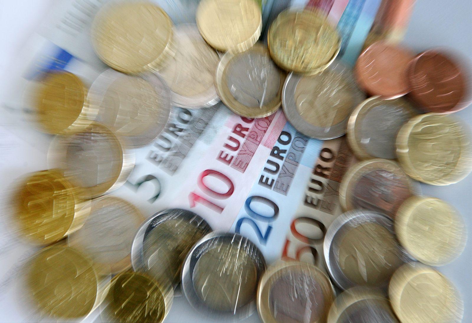 Schulden der öffentlichen Haushalte / Euro