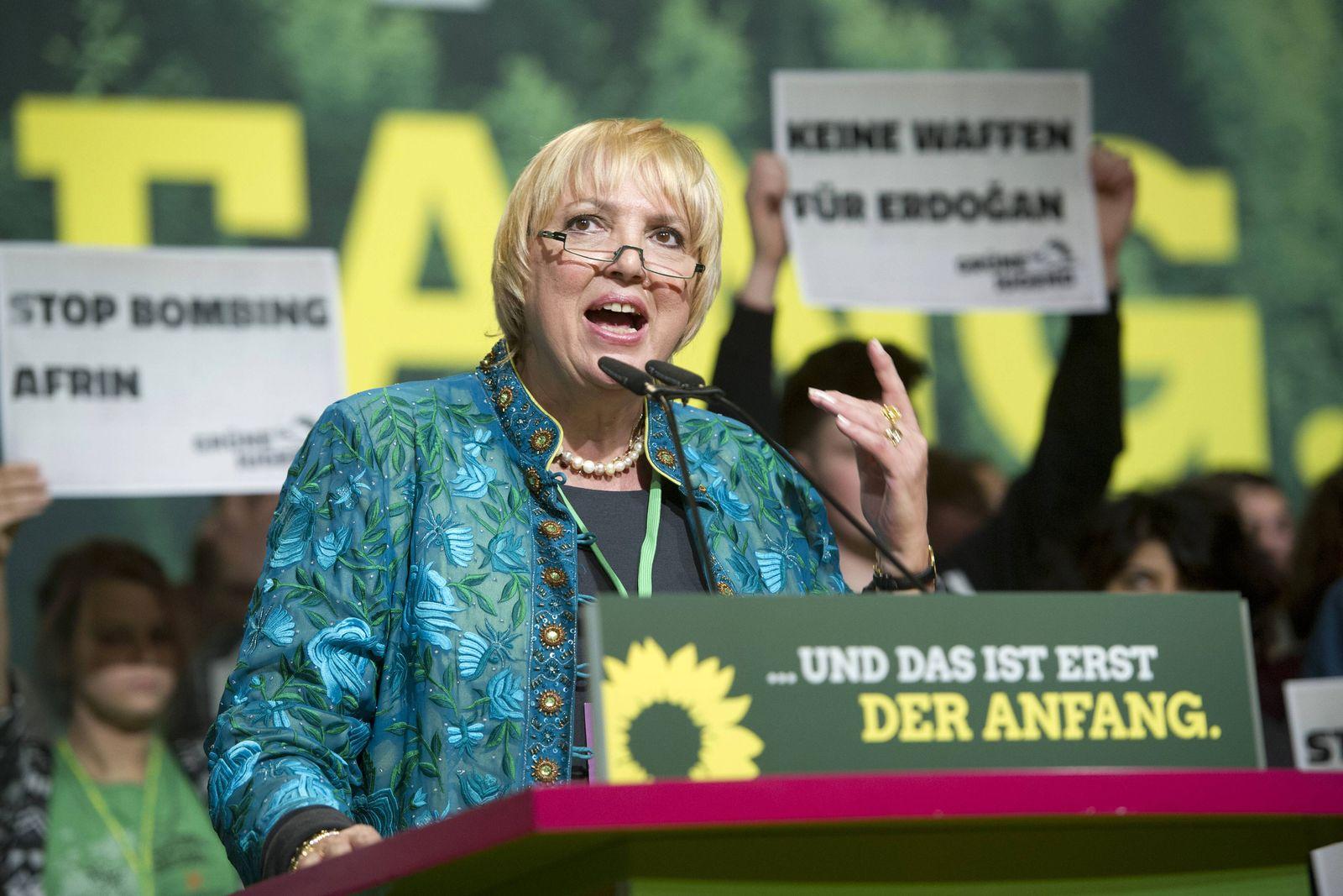 EINMALIGE VERWENDUNG Claudia Roth/ Die Gruenen