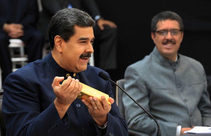 Nicolás Maduro: Auf der Suche nach Devisen