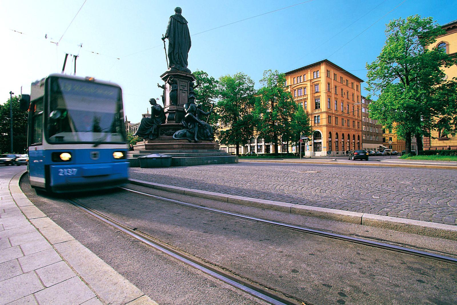München / Trambahn