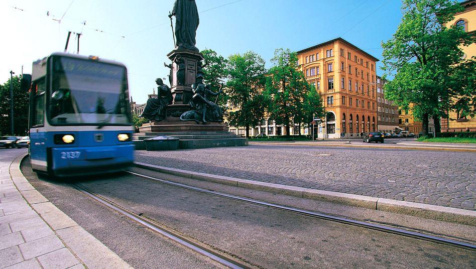 Straßenbahn in München: Der ÖPNV in der bayrischen Hauptstadt erhielt Bestnoten