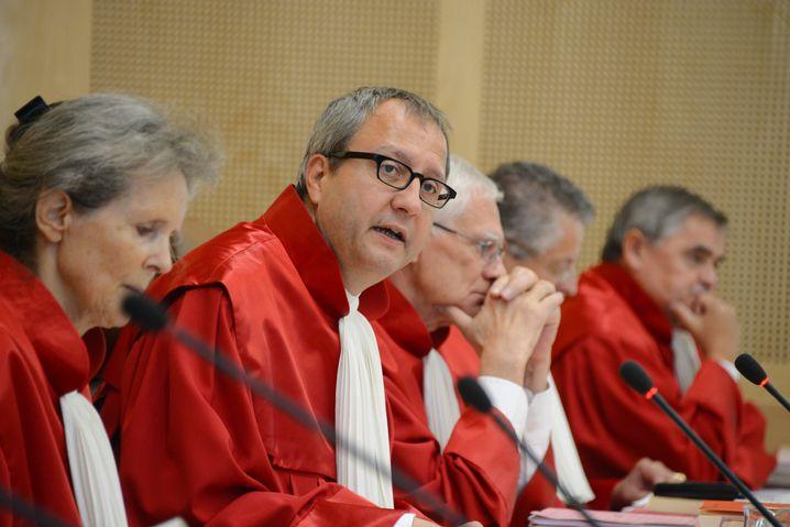 Der Zweite Senat des Verfassungsgerichts: Historisches Verfahren in Karlsruhe