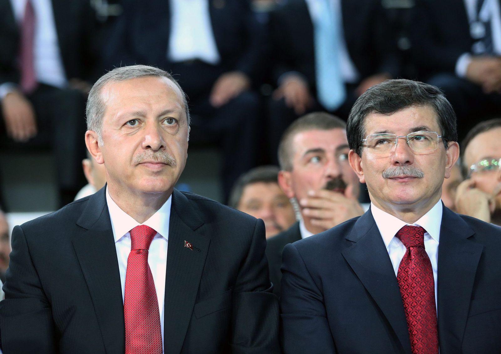 Erdogan und Davutoglu